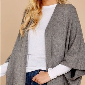 Super comfy gray cardigan